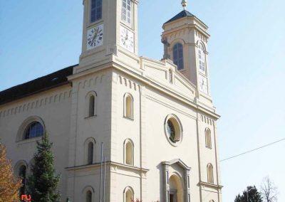 Restaurierung der Pfarrkirche Eggersdorf