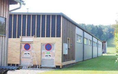 Holzproduktionshalle für die Firma Fassold
